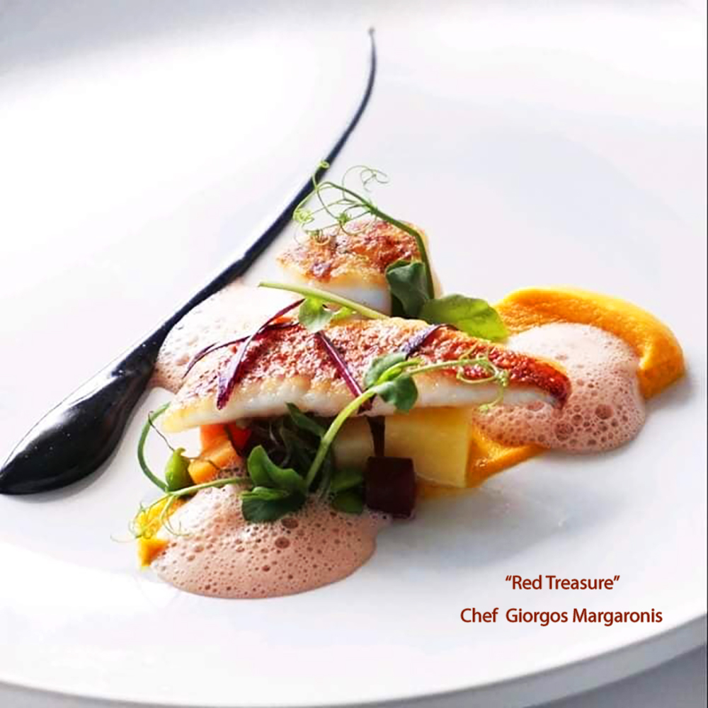 chef margaronis giorgos red treasure