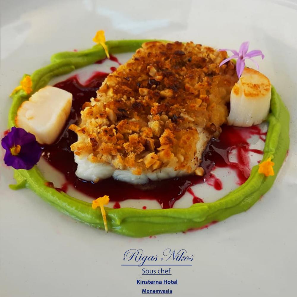 chef nikos rigas dream fish