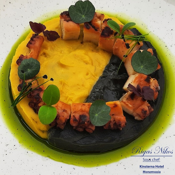 executive chef nikos rigas summer feast