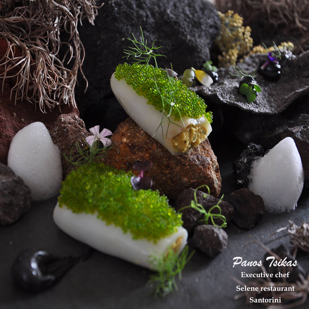 executive chef tsikas panos volcanic soil and sea selene restaurant