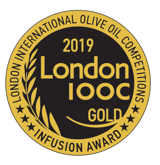 london iooc award gold infusion olive oil 2019