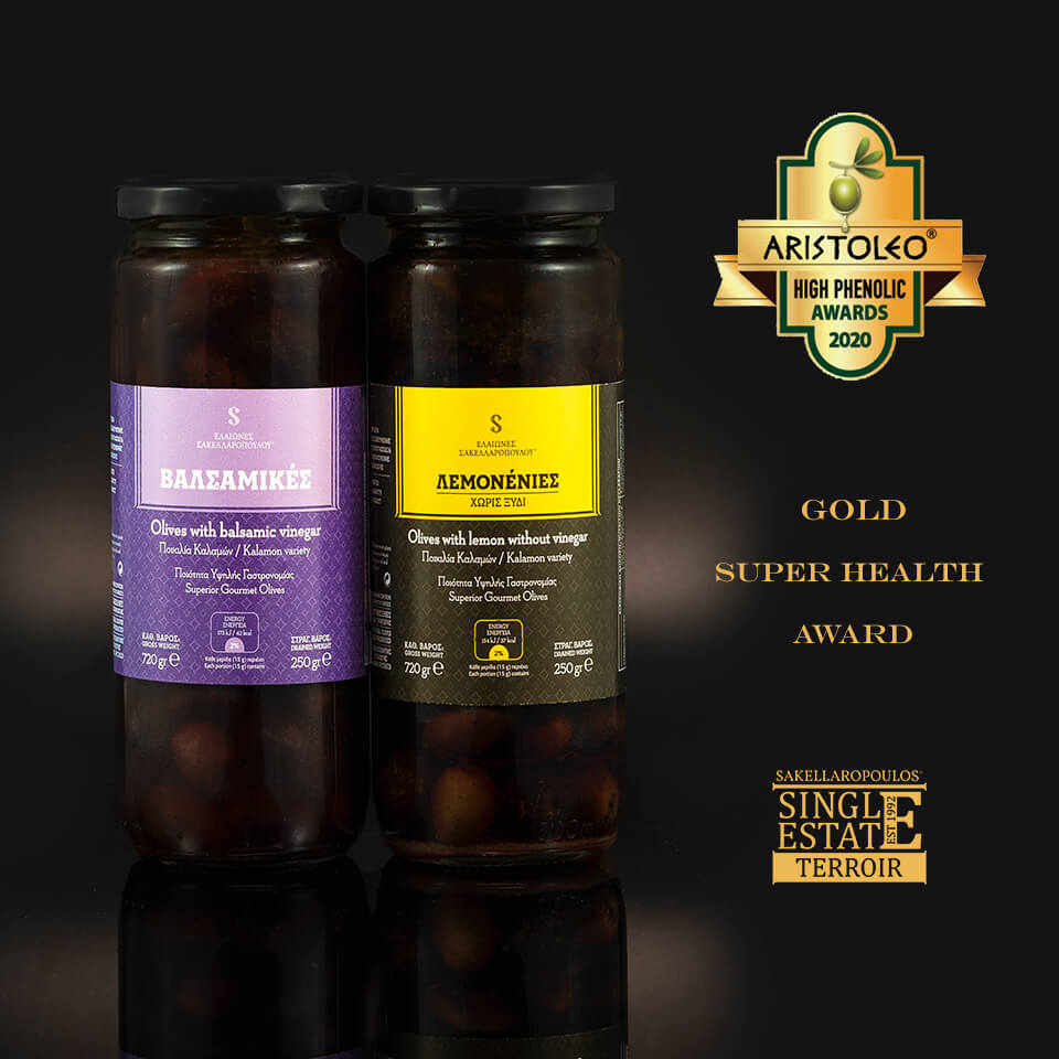 aristoleo awards high phenolic 2020 olives tyrosol