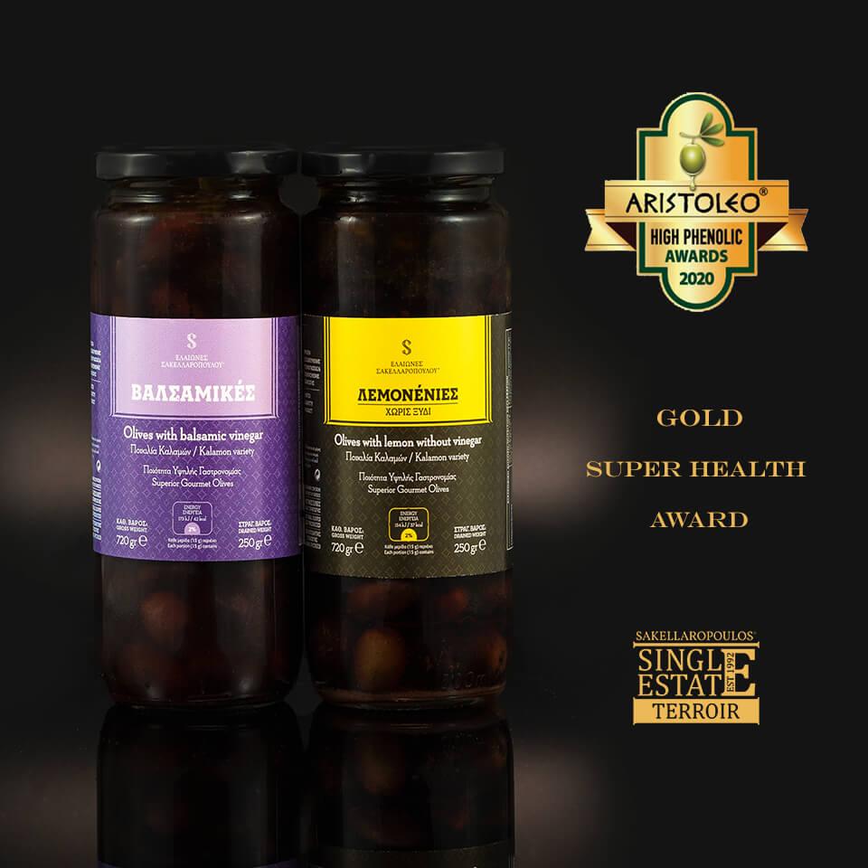 aristoleo awards high phenolic 2020 olives tyrosol lemonenies valsamikes