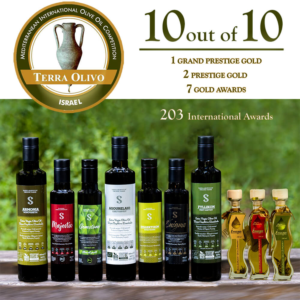 terraolivo international olive oil competition 2020 awards