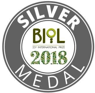 biol 2018 silver medal