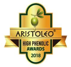 aristoleo high phenolic olives award 2018