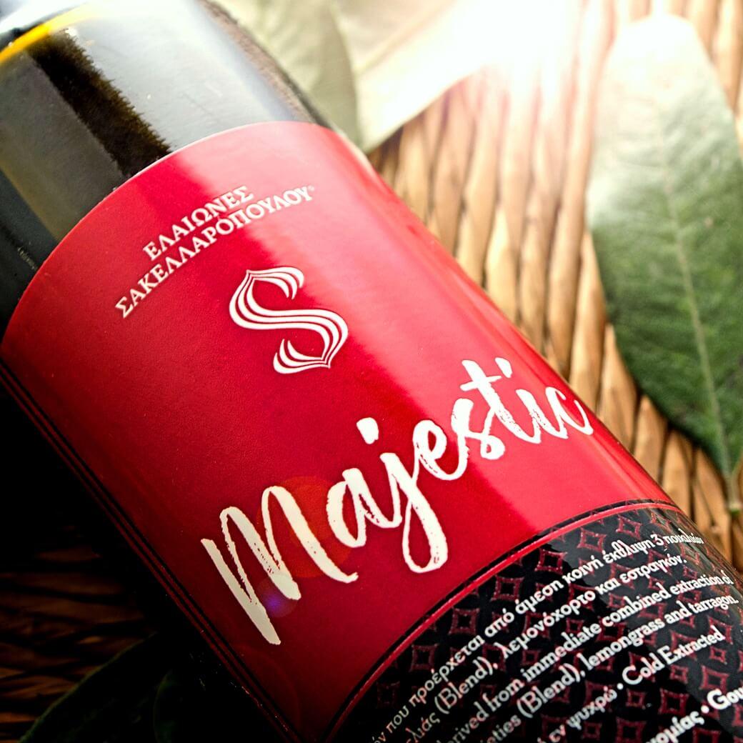 MAJESTIC OLIVINUS 2018 prestige gold flavored olive oil