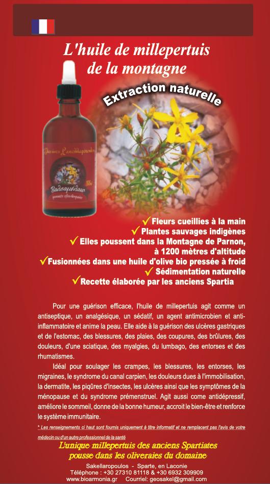 Properties St. Saint John's Wort Oil Hypericum Organic Olive Oil