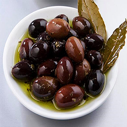 Unsalted Olives Organic Kalamata Natural no added salt aromatic herbs