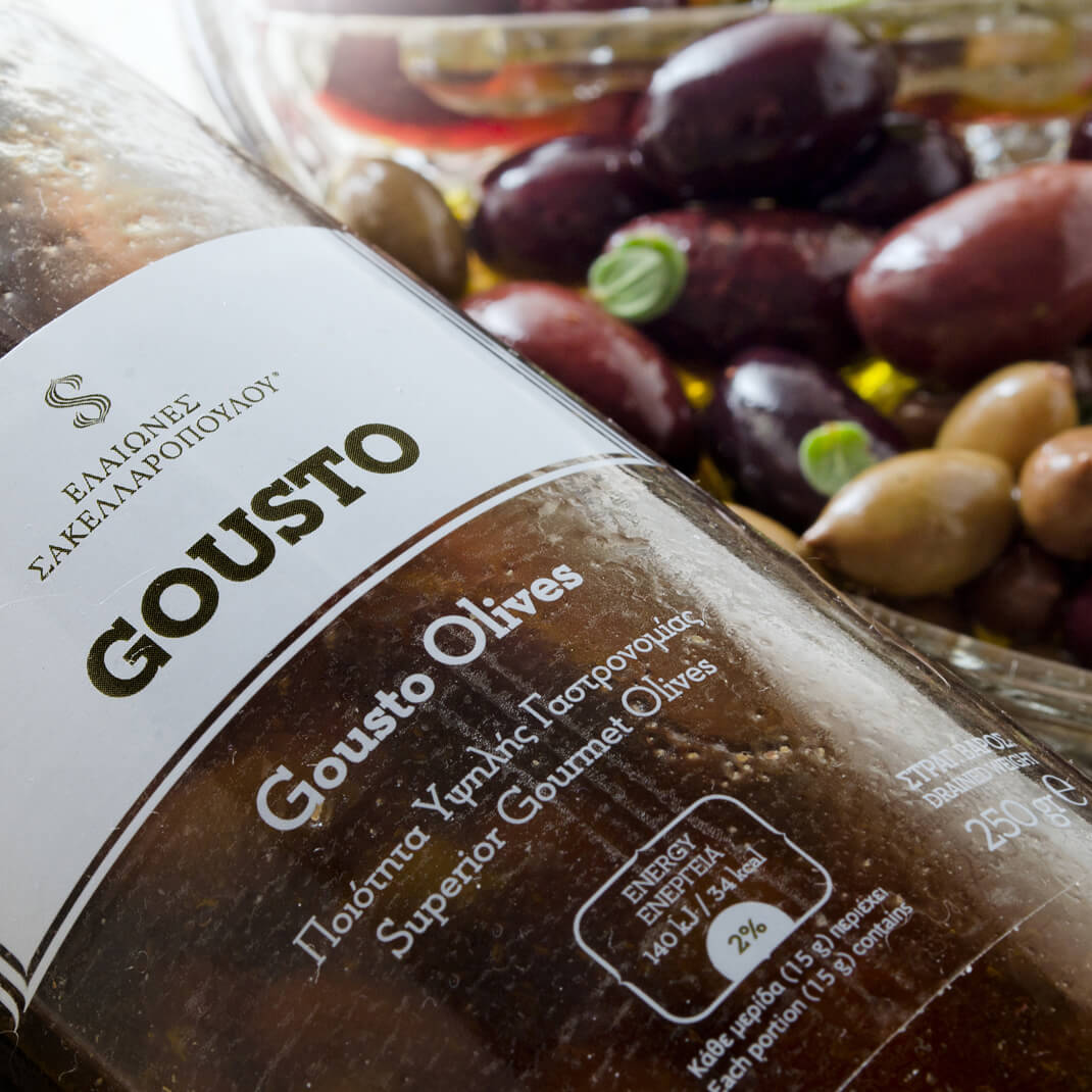 olives black and green gourmet bio