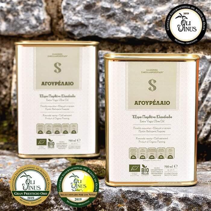 agourelaio organic evoo unripe premium olive oil early harvest polyphenols