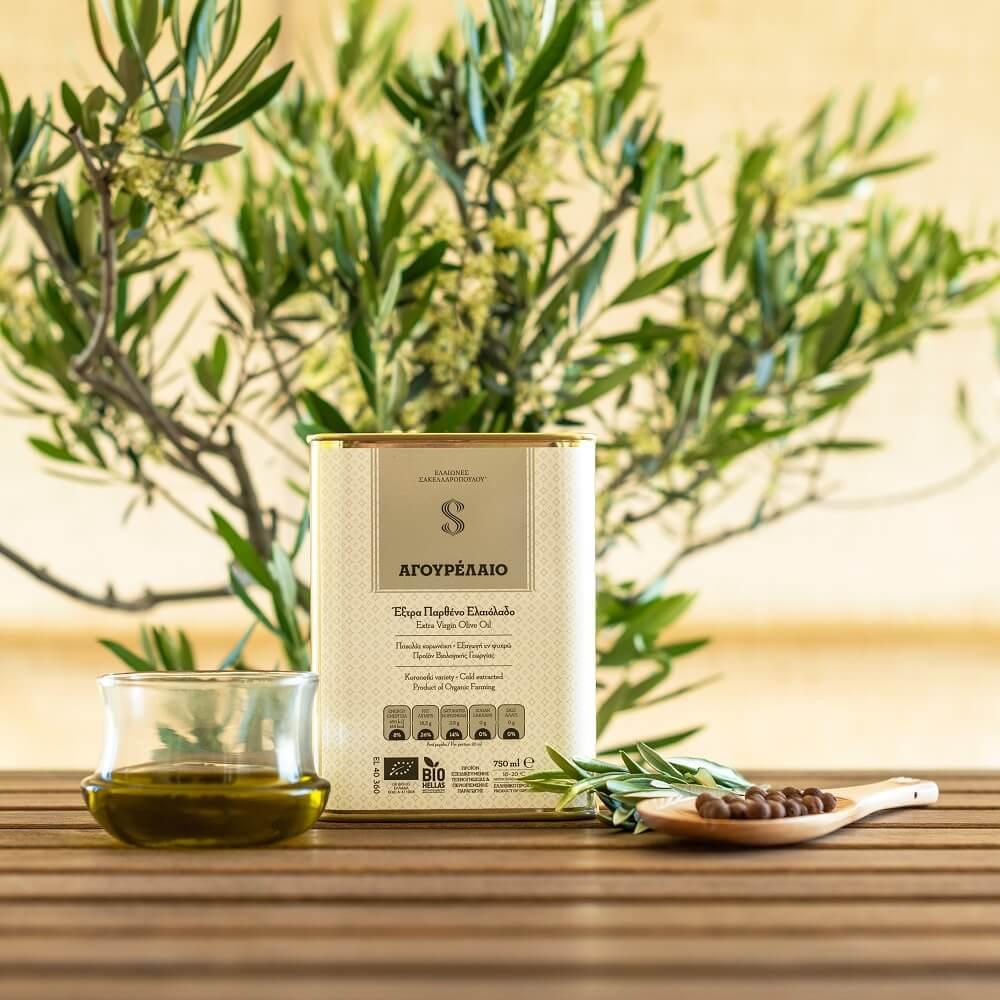 agourelaio organic evoo unripe premium olive oil early harvest