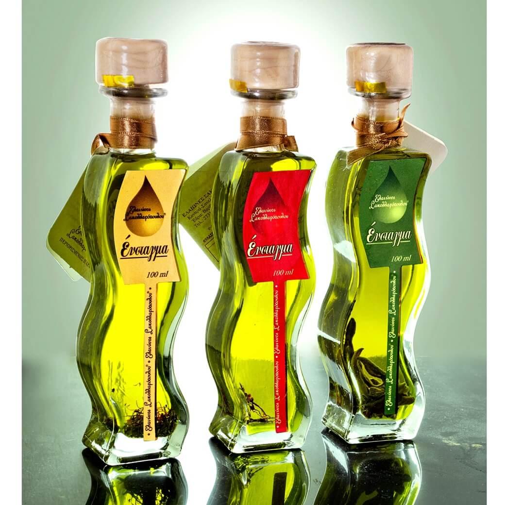 enstagma flavored gourmet olive oil premium saffron sage rosemary