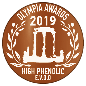 Olympia Award 2019 LOGO BRONZE olive oil health