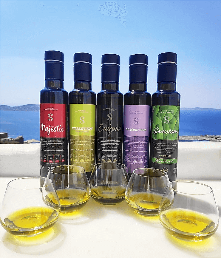 intro mykonos olive oil tasting flavored