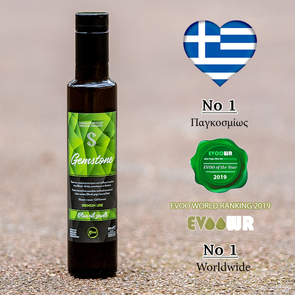 gemstone olive oil flavored evoo premium