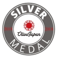Silver Medal-OLIVE JAPAN International evoo competition 2018