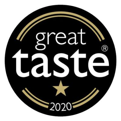 5 out of 5 - Gold Stars at Great Taste Awards 2020