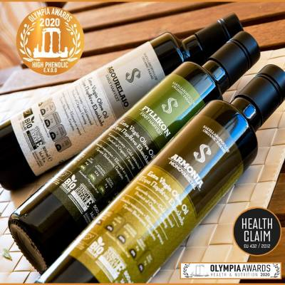 Triple Awards for Sakellaropoulos Organic Farms at OLYMPIA HEALTH & NUTRITION Awards 2020