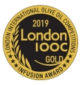 Gold Award - Gemstone Olive Oil - LIOOC 2019