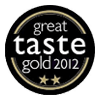 Great Taste Awards 2012 2 Gold Stars