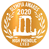 Olympia High Phenolic Olive Oil Awards 2020 Gold